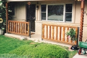 "Fence Rail Mesa 4""x4""x10' 1-side"